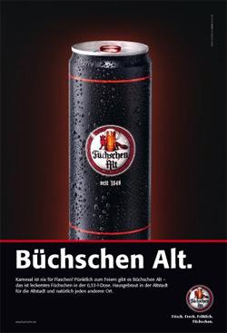 Brauerei Füchschen führt Bierdose ein