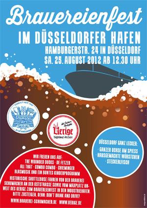 3. Brauereifest der Hausbrauereien Uerige und Schumacher