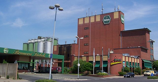 Diebels Brauerei in Issum